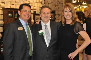 Patrick Warren, Mohawk Hard Surfaces, Dave Snedeker, Nebraska Furniture Mart and Paij Thorn-Brooks, Mohawk Hard Surfaces