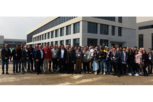 Metroflor China plant tour 2019