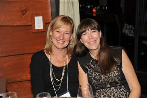Anne Harr, Floor Focus Magazine and Sharon Folliard, Johnsonite
