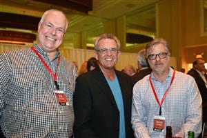 Tim McLellan, Mike Moore and David Vernon