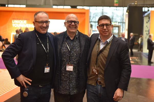 Renato Turri (right) and associates with World Architects-Domotex Tour Leaders
