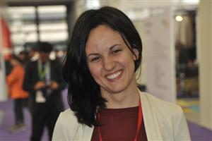 Elena Geremia, International Marketing and Sales Manager for Domotex Asia/ChinaFloor
