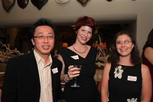 Derrick & Shannon Choo and Liz Engel