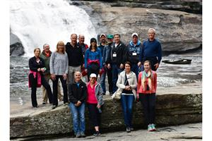 NFA Waterfall Hike Group