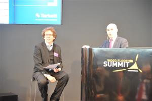 Michel Giannuzzi, Tarkett CEO and Michael Braungart
