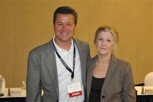 Scott Humphrey, WFCA and Wanda Ellis AFA