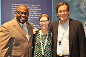 George Bandy, Jennifer Thiele Busch and Peter Greene with Interface