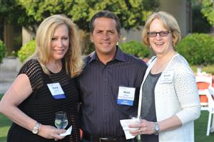 Cherly Acierno, Mark Wiles and Jeanne Matson