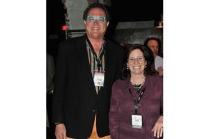John Bonney (Karndean) and Deb Lechner (Armstrong)