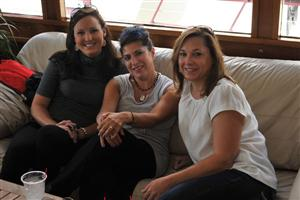 Erin Dempsey, Valerie Ottaviano and Leigh Wright