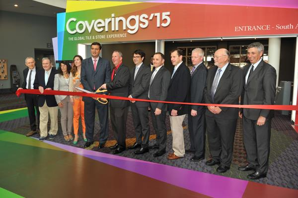 Coverings 2015, Orlando, FL