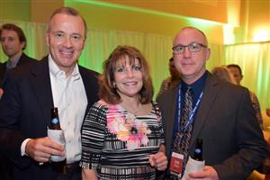 Geoff Gordan (Fuse Alliance), Brenda Ciccarello and Don Styka (Tarkett)