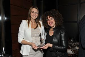 Elizabeth McCabe, Wilson Associates and Vasiliki Zannettis, Dash Design. Winner - Hospitality