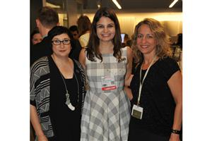 Royce Epstein and Sarah Tuck of Mohawk with Catherine Minervini of Green Owl Studio
