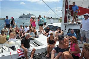 Catamaran Ride