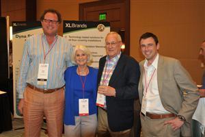 John Bonney (Karndean), Nell and Ken Daniels (FUSE), Ed Perrin (Karndean)