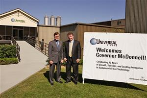Gov. McDonnell with CEO Marc Ammen