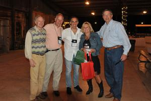 Sam Roberts - Roberts Carpet and Fine Floors, Kemp Harr - Floor Focus Magazine, Michael Longwill - Air Base Carpet Mart, Lisa Browning - NFA and Bob Lee - Beaulieu
