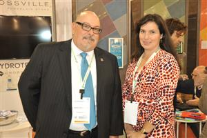 Mark Shannon and Lindsey Ann Waldrep of Crossville Tile