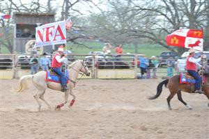 NFA Flag at the Rodeo
