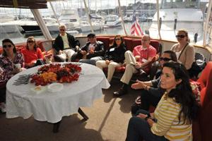 Boston Harbor Cruise aboard Timeless