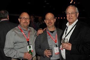Ken Daniels with 2 FUSE members