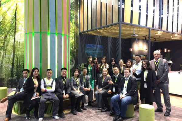Novalis team at Domotex Asia