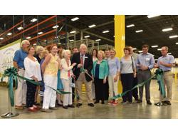 Mannington Cuts Ribbon on New LVT Finishing Plant in Madison, Georgia