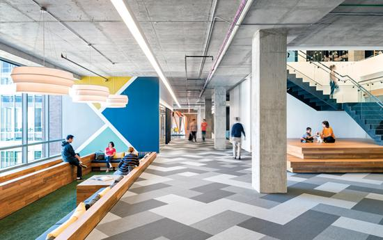 Studio O+A's design of Cisco-Meraki's San Francisco office