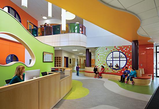 Hmfh Architect S Design Of Thompson Elementary School