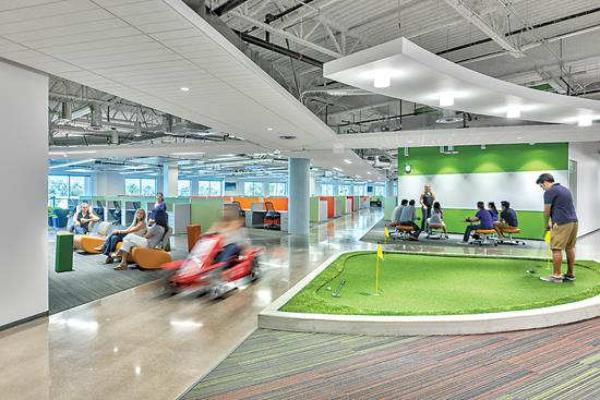 Trends In Corporate Workplace Design At Technology