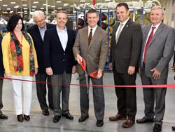 Shaw Hosts Grand Opening of $85 Million Carpet Tile Facility in Georgia