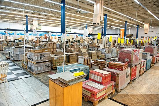 Ceramic Tile The Distributors Perspective AugSep - Discount tile warehouse near me