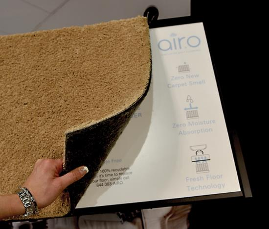 Mohawk Introduces Airo: 100% recyclable, easy-to-install floorcovering - Jan 2017