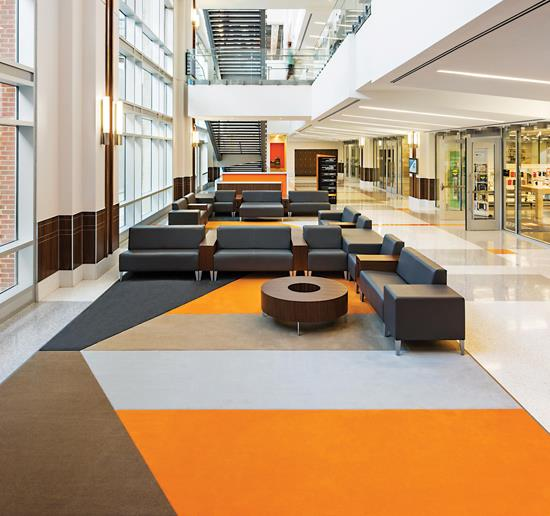 Trends in Higher Education: Flooring supports student preferences for learning - May 2017
