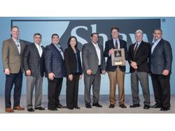 Shaw Named Vendor of the Year by Sherwin-Williams