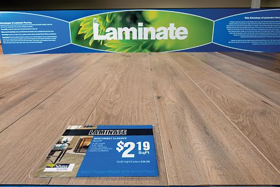 Laminate Report: Retailers indicate that the category is holding its own - Aug/Sep 18