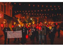 Tarkett Hosted Charity Light the Night Event During Surfaces