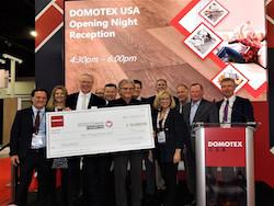 FCIF Receives Donation from Domotex USA
