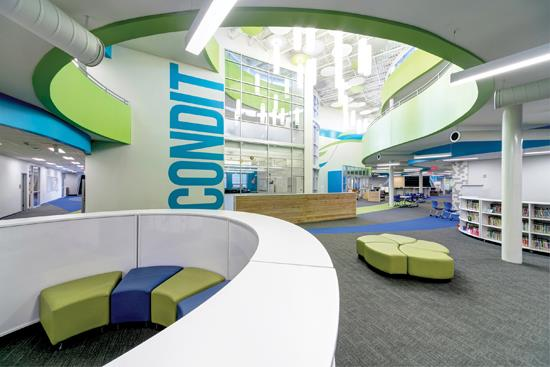 K-12 Education Trends: New education approaches necessitate new interiors - May 2019