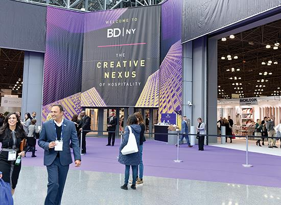 Boutique Design New York: Energy and enthusiasm were high as the boutique hospitality show continues to grow - Jan 2020