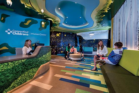 Designer Forum: Flooring services as a unifying and distinguishing force of design at Connecticut Children's Infusion Center - Feb 2020