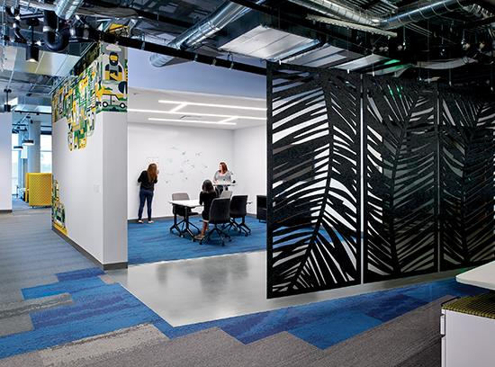 Trends in Workplace Design: New design directions in the corporate sector are changing flooring needs - March 2020