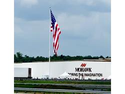 Mohawk Raises Flag in Honor of Long-Serving Employees