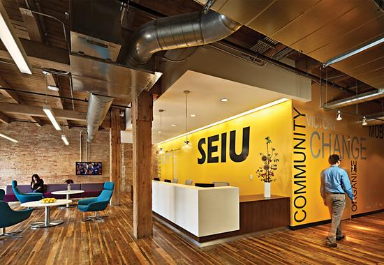 Wight & Company's design of SEIU headquarters: Designer Forum