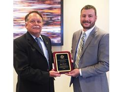 TCNA's Ryan Marino Honored by ASTM w/ Award of Appreciation